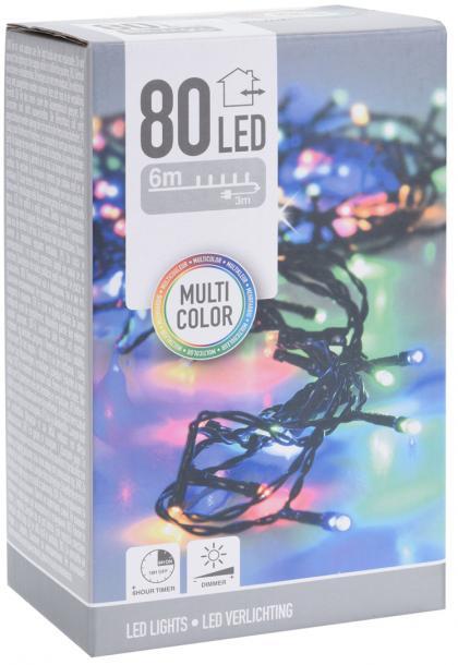 Светлинна верига OUT 80 LED многоцветна