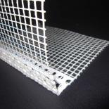 PVC ъглов профил с мрежа webertherm