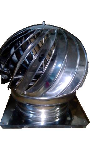 Въртяща шапка с планки 36/36 инокс