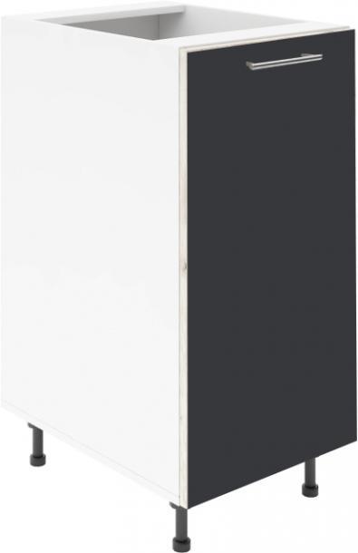 Крафт D1 долен шкаф с една врата 35см, антрацит