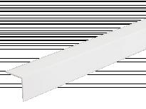L - профил с двустранно покритие LK 20 мм бял