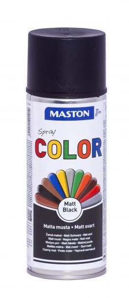 Спрей боя Maston 0.4л, черен мат