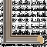 Рамка с паспарту ПВЦ 40/50 сребро
