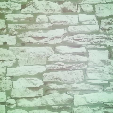 Тапет ПВЦ Инхибиция камъни-бяло