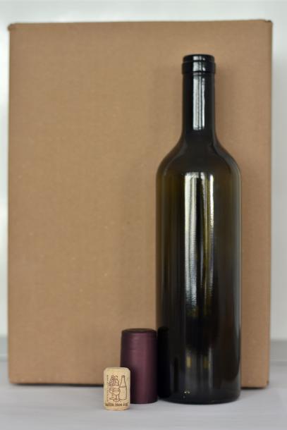 Бутилки за вино 0,75л. 6 бр.