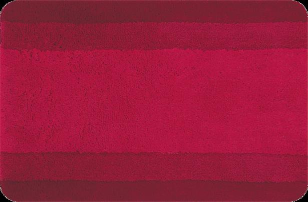 Килим за баня червен 60х90