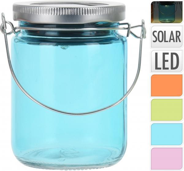 Солар - стъклен фенер за окачване