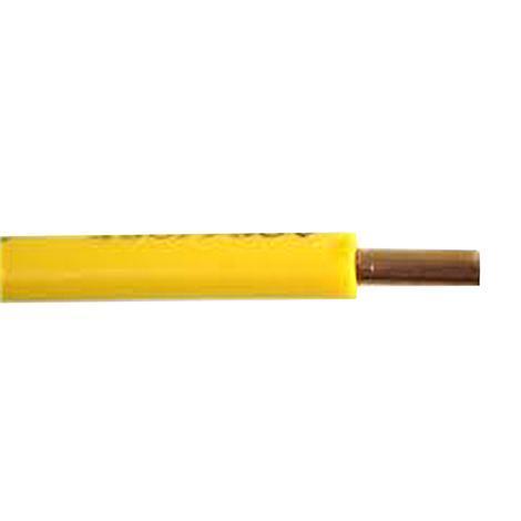 Кабел H07V-U 1x10mm2 жълто-зелен