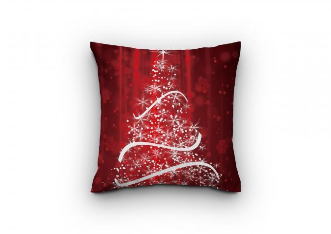 Деко Коледна възглавница дизайн 1
