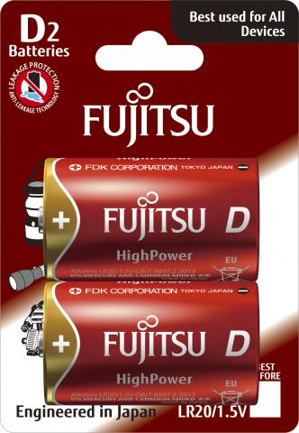 Батерии  Fujitsu High Power D2 2BP