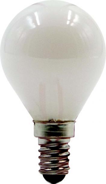 LED филамент мат балонче 4W E14 2700K