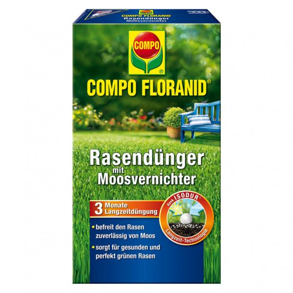 Тор COMPO FLORANID® за тревни килими унищожаващ мъхове  1,5 кг