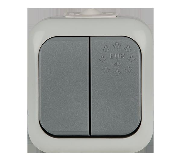 Двоен ключ влагозащитен IP 44
