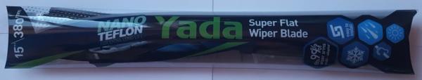 Плоска авто чистачка YADA  - 15'' 38см