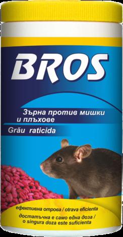 Зърна против мишки и плъхове