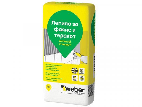 Webercol Стандарт лепило за фаянс С1Т