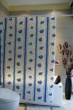 Завеса за баня ПВЦ щампа