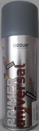 Спрей Biodur универсален грунд(сив), 400 мл