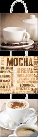 картина 3-ка на връв кафе