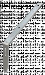 Хоризонтална метална планка