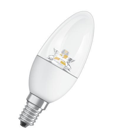 LED лампа свещ 6W,Е14