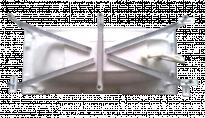 Метална опора за вана  Viena/Linea
