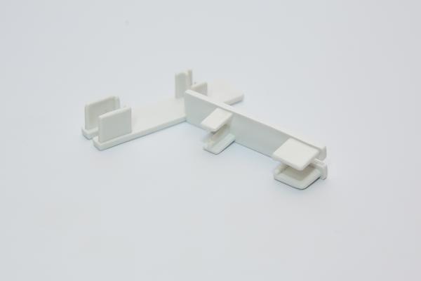 Крайна тапа за двуканална PVC релса - 2 бр.