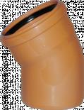 PVC Коляно (дъга) 110x30°