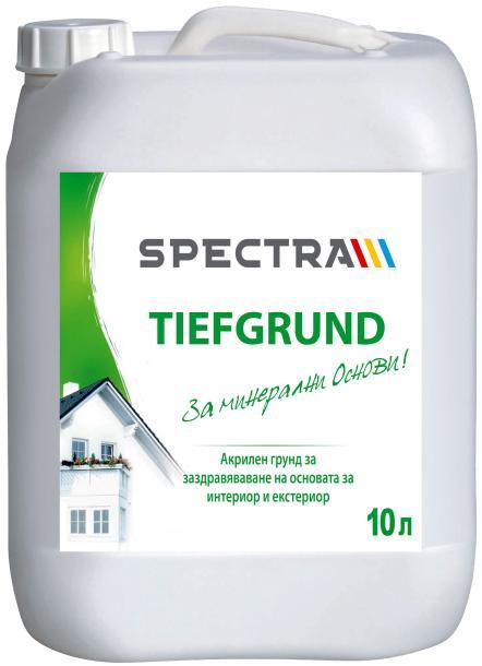 Грунд за стени и фасади Spectra Tiefgrund 10 л