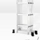 Стълба алуминиева сгъваема мултифункционална 4x3 2