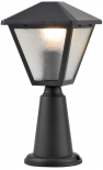 Градинска лампа Аман, стълб 20см  Е27, IP44, алуминий и стъкло