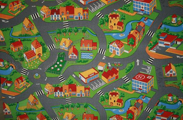 Детски килим Little Village 90 1.15/1.65