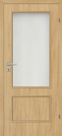 Интериорна врата Сантана 80х200 см. омаслен дъб, лява