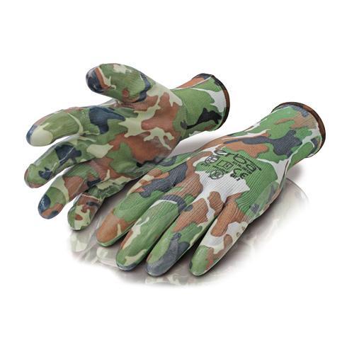 Градински ръкавици ERBA камуфлаж