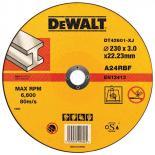 Абразивен диск за рязане метал DeWalt 230мм