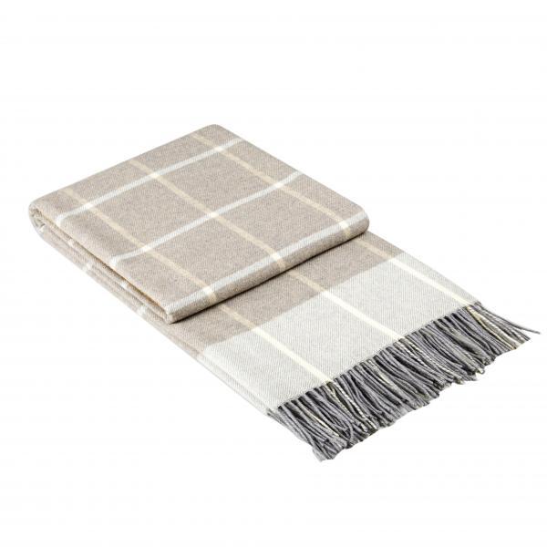 Одеяло Онтарио бежаво 140x200 см