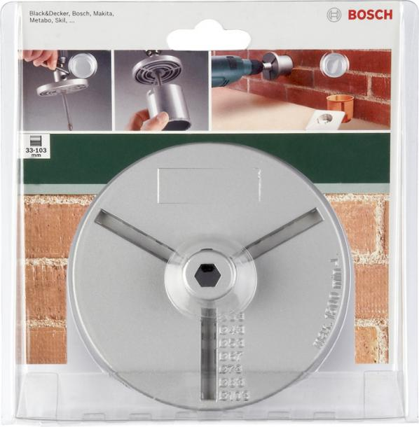 Държач за боркорони Bosch 33-103мм