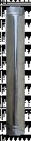 Димоотвод Ф80 50см инокс