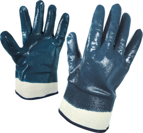 Ръкавици топени в нитрил размер 9 SWIFT