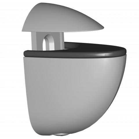 Клипс Mini сребрист 4-20мм