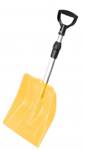 Лопата за сняг Yeti телескопична оранжева