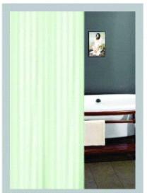 Душ завеса 180х200, зелена