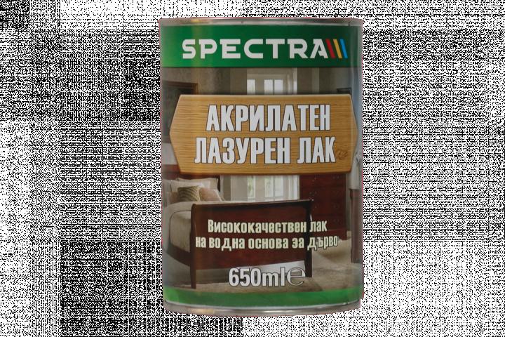 Акрилатен лазурен лак Spectra 0.65л, венге