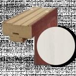 Каса Standard горна греда 60 см. - ясен бял 3D