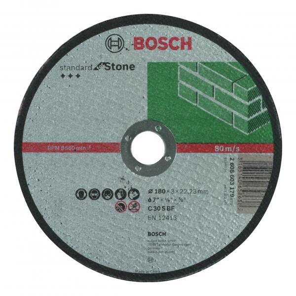 Диск за рязане на камък 180mm BOSCH