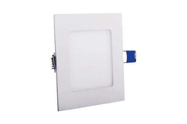 LED панел 12W 3000K квадрат