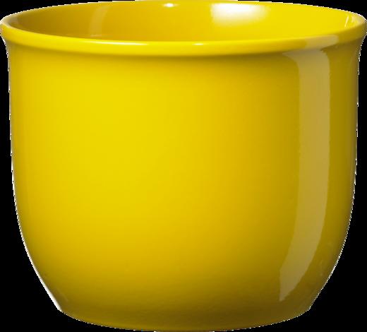 Кашпа Брюксел Ф:13 см жълта