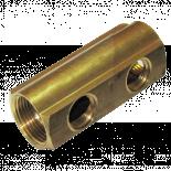 Колектор  50мм Ж1/2'' 1''х2 л