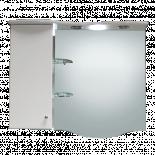 Огледален шкаф Електра с осветление - ляв