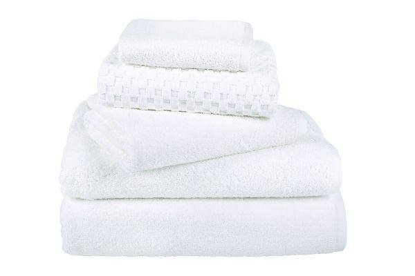 Хавлиени кърпи 50x30 см -  бяло